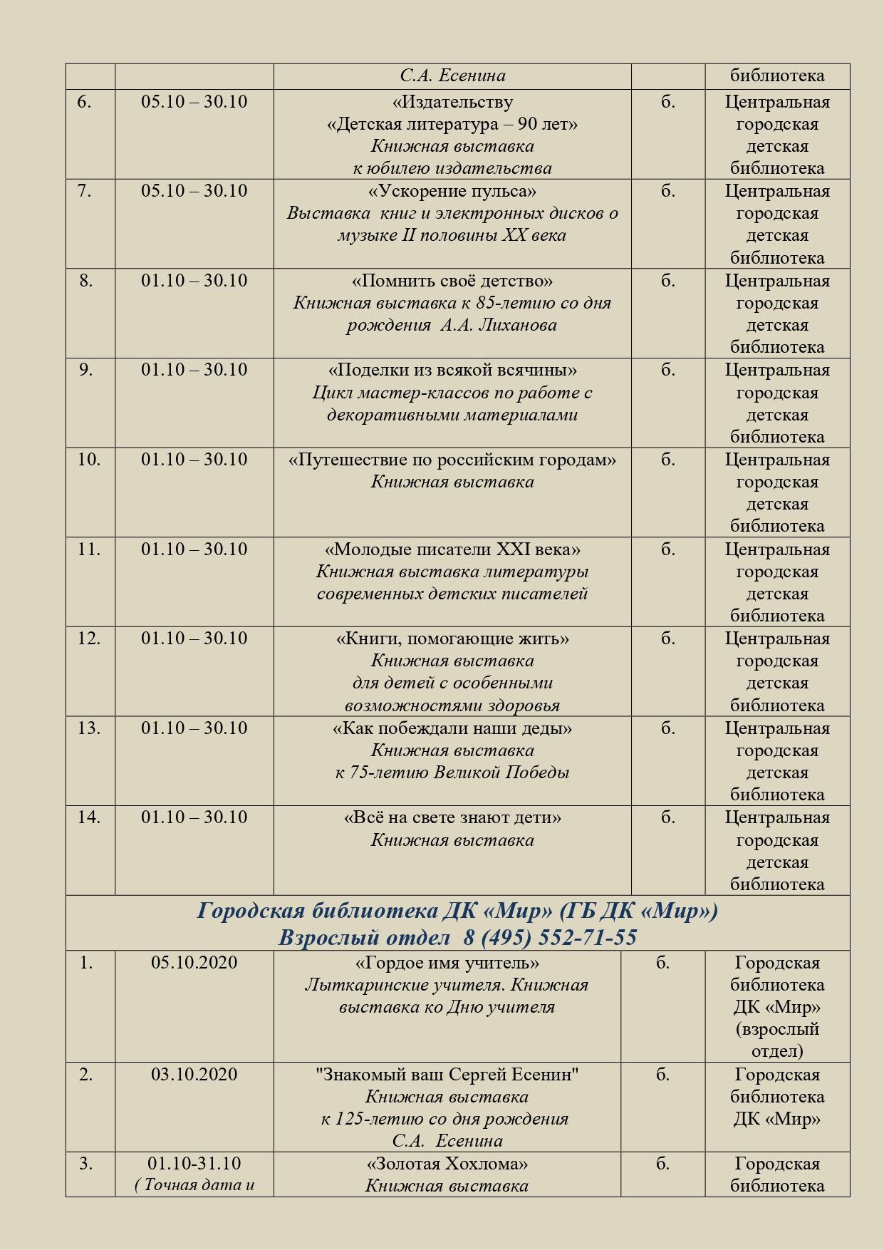 10 План на Октябрь 2020 МУ ЦБС в Комитет_page-0003